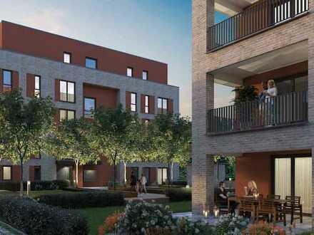 Großzügige Terrasse! Hochwertige 2-Zimmer-Wohnung in wunderschöner Umgebung