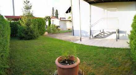 Schöne Wohnung in beliebter Lage mit großer Terrasse und eigenem Garten