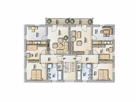 Sonnige Obergeschosswohnung mit Balkon