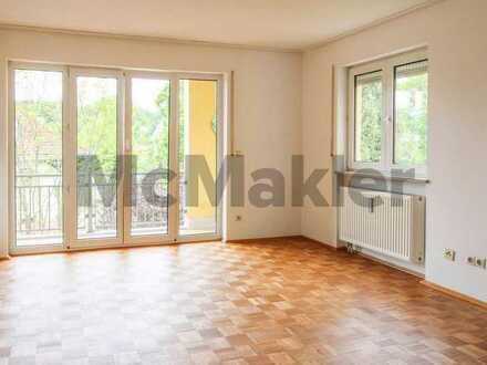 Stilvoller Wohnkomfort in Bestlage: 2-Zi.-ETW mit Balkon zwischen Hbf und Altstadt in Ingolstadt
