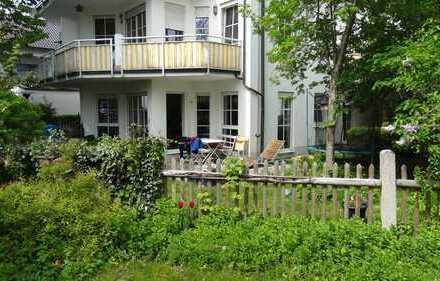 Obermenzing - 3-Zimmer-Gartenwohnung (1 Raum im UG)