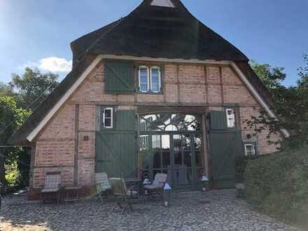 Historische Reetdachkate - Doppelhaushälfte