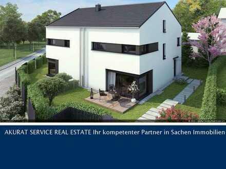 NEUBAU - exklusive Niedrigenergie-Doppelhaushälfte in Gilching-Geisenbrunn