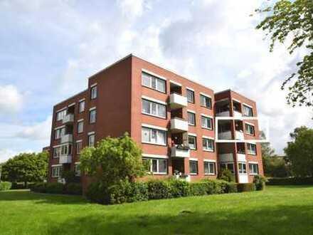 Kapitalanlage oder Selbstnutzung! Top gepflegte 3-Zimmer-Wohnung mit Balkon und Stellplatz in Em...