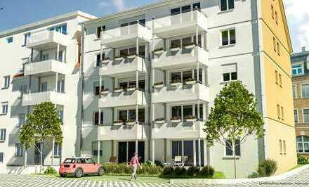 Energiebewusstes Wohnen - 3-Zi-Wohnung im EG mit Terrasse und Gartenanteil