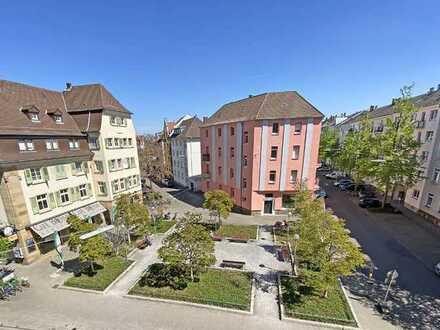 6328 - Wohnen am Brahmsplatz - 3-Zimmerwohnung mit 2 Balkonen!