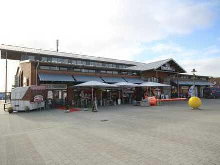 Ladengeschäft in der Alten Tonnenhalle am Lister Hafen