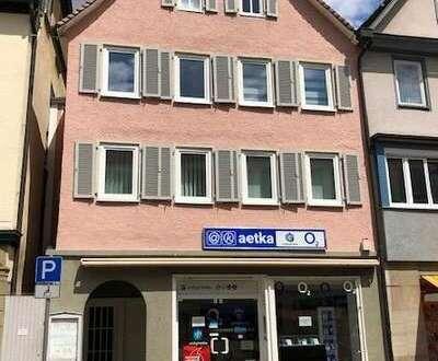 + Büro- oder Verkaufsfläche in der Stadtmitte +