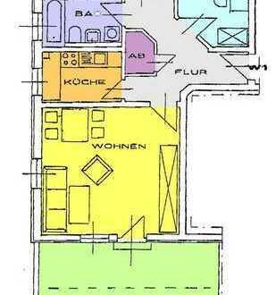 schicke 3-Zimmer Wohnung mit Dachterrasse
