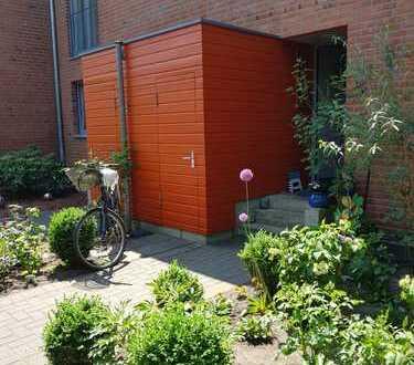 Reihenhaus mit Garten und alten Baumbestand