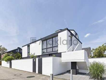 +++ Ästhetischer Modernismus am rechten Rheinufer +++ Einfamilienhaus mit Raffinesse