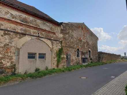 Ruine mit Grundstück in Glossen