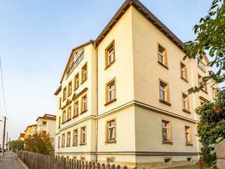 **Charmante Altbauwohnung** in Dresden-Briesnitz mit Tageslichtbad und Wanne