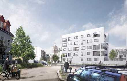 Erstbezug Neubau 5 Zimmer, Balkone und grosse Loggia mit Blick bis zum Fernsehturm