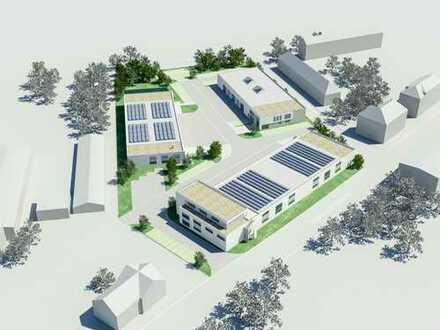 """Gewerbepark """"Hasenheide"""" - Neubau moderner Hallen für Produktion/Lager und Büro"""