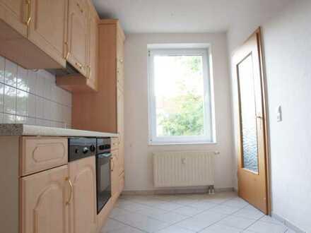 3-Raum-Maisonette-Wohnung mit Einbauküche und Gartennutzung in Staßfurt