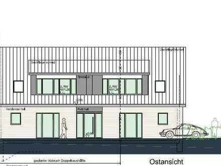 Baugrundstück in ruhiger Siedlungslage – Baugenehmigung für 2 Wohneinheiten