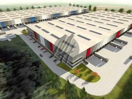 NEUBAU ✓ 24/7-NUTZUNG ✓ Lager-/Logistik (30.000 m²/teilbar) & Büro (3.000 m²/teilbar) zu vermieten