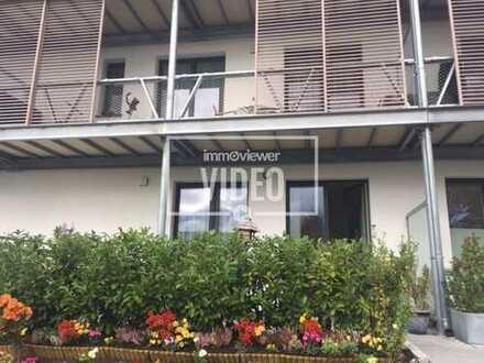 Maisonettewohnung * EG und OG * mit Terrasse und grossem Balkon und keiner gewendelten Treppe