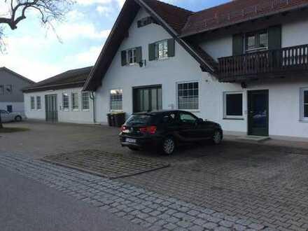 Werk- und Lagerhallen in Schöffelding ( A 96) mit Büros