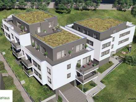 2 Zimmer, Terrasse und Gartenanteil