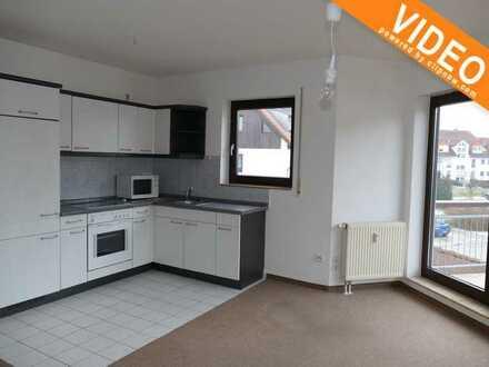 Kleine Wohnung mit Balkon u. EBK in idyll. Lage direkt am Spreefließ im Cottbuser Stadtteil Döbbrick
