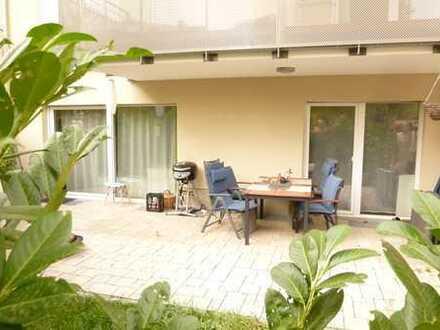 LUXUSNEUBAU von 2016 - Repräsentative 4-Zimmer-Gartenmaisonette (WE#1)