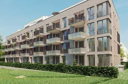 Erstbezug einer 3-Zimmer-Neubauwohnung am Tarpenbeker Ufer in Groß Borstel