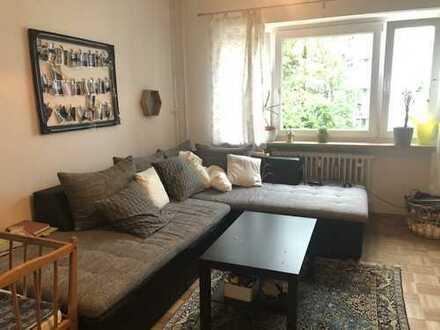 Attraktive 3-Zimmerwohnung-Schlaf-und Wohnzimmer zum ruhigen Innenhof- frei zum 1. September 2019