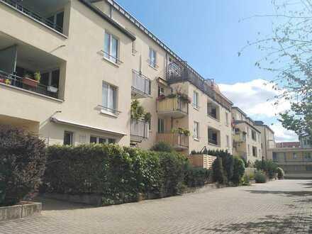Man lebt ruhig in Lindenau ... Hübsche 2-Zimmer-Wohnung mit Terrasse