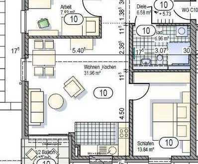 2.OG 3-Zimmerwohnung