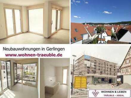 Erstbezug von heller, moderner 3,5 Zimmer-Wohnung in attraktiver Lage von Gerlingen