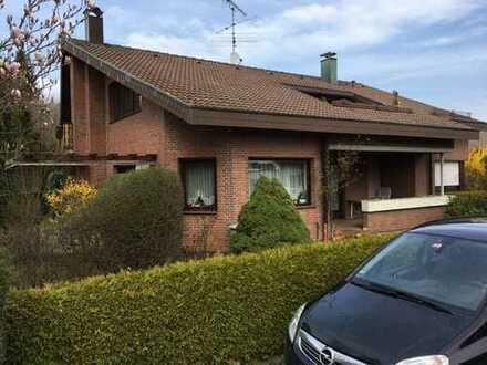 Gepflegte 5-Zimmer-Erdgeschosswohnung mit Balkon und Garten in Erkenbrechtsweiler