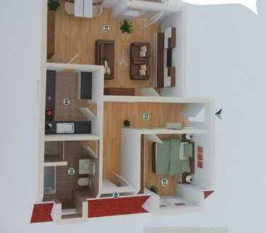 Gemütliche 2 Zimmer Wohnung in Ludwigshafen - Oppau