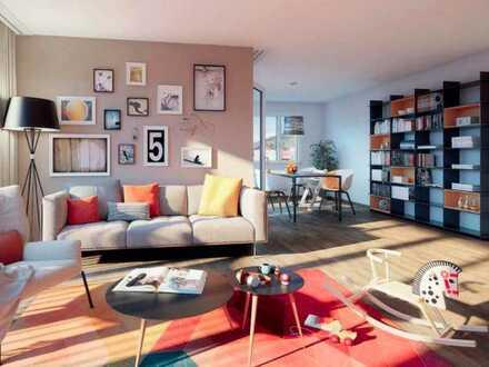 Ich liebe diese Penthouse Wohnung, weil sie ist, wie sie ist: 111 qm mit Dachterrasse und Aufzug