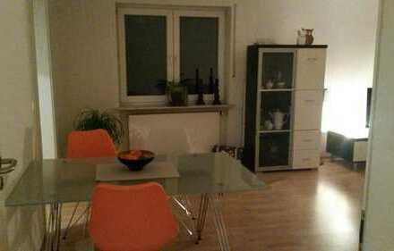 Möbliertes Zimmer in 2er-WG mit großem Balkon in FFM zu vermieten