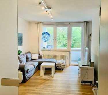 Stilvolle 2-Zimmer-Wohnung mit Balkon im Herzen von Oberkassel