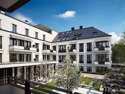 Residenz Alt-Bogenhausen, helle 3-Zi.-Wohnung mit 2 Terrassen
