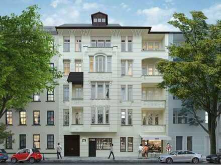 Idealer Grundriss - Bezugsfertige 2-Zimmerwohnung im kernsanierten Altbau m. Südwestbalkon