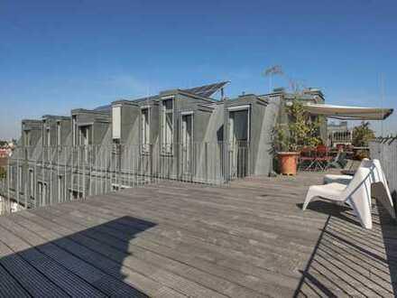 Aussergewöhnliches Loft mit großer Dachterrasse am Paul-Lincke-Ufer