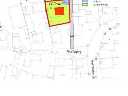Schöne Baugrundstück ca.770m² mit Scheune in Nürnberg/Kraftshof