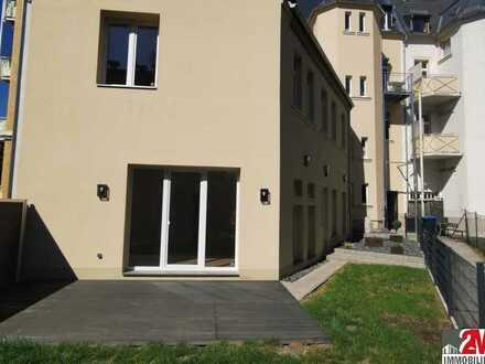 Hinterhaus mit eigenem Eingang und Gartenanteil