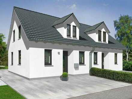 Zwei Doppelhaushälften im Neubaugebiet Bröckel