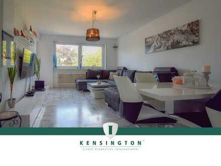 Gepflegte 3-Zimmer-Wohnung mit Balkon und Einbauküche in zentrumsnaher Lage