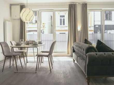 Parkallee 1 - Ansprechende 2-Zimmer-Wohnung mit Einbauküche und Balkon in Bremen
