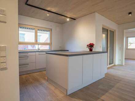 Neuwertige 3,5-Zimmer-Wohnung mit Balkon und EBK in Linkenheim-Hochstetten