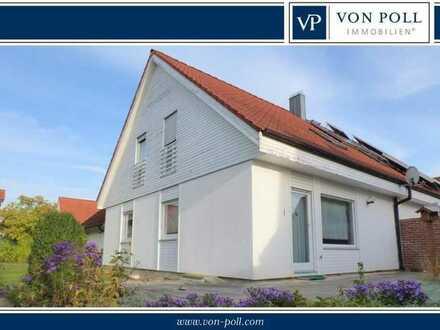 Großzügige Doppelhaushälfte mit hübschem Garten in Baldingen
