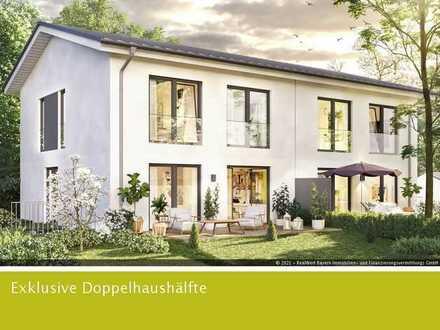 Nur noch eine Doppelhaushälfte in Machtlfing verfügbar! Baugebinn Herbst 2021