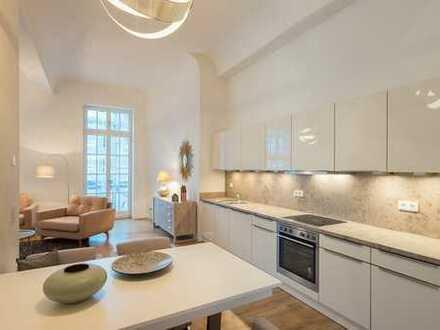 Familienwohnung ab sofort: Einbauküche   Vollbad + Duschbad   Balkon   Parkett