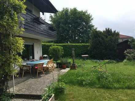 Großzügige 4-Zimmer Gartenwohnung in Ammerland am Starnberger See